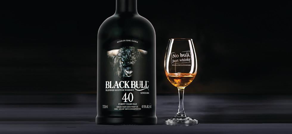 whiskey 40 jaar Duncan Taylor stel Black Bull 40 bekend   'n 40 jarige Blended  whiskey 40 jaar