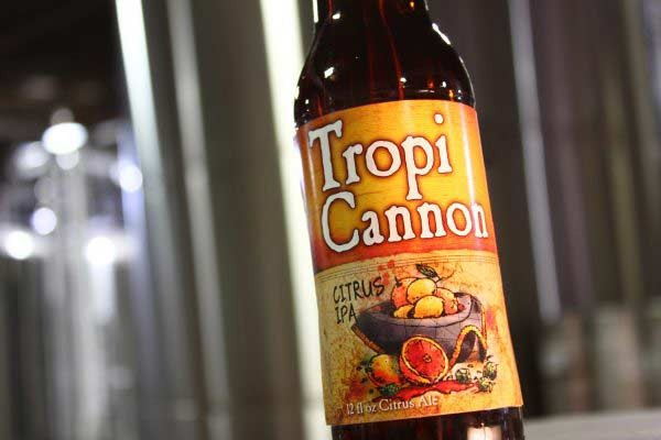 TropiCannon Citrus IPA Now Available Year-Round!