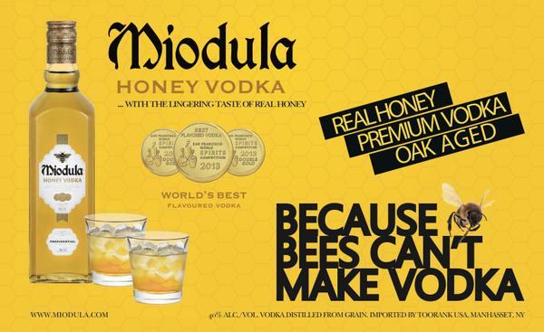 Miodula Honey Vodka