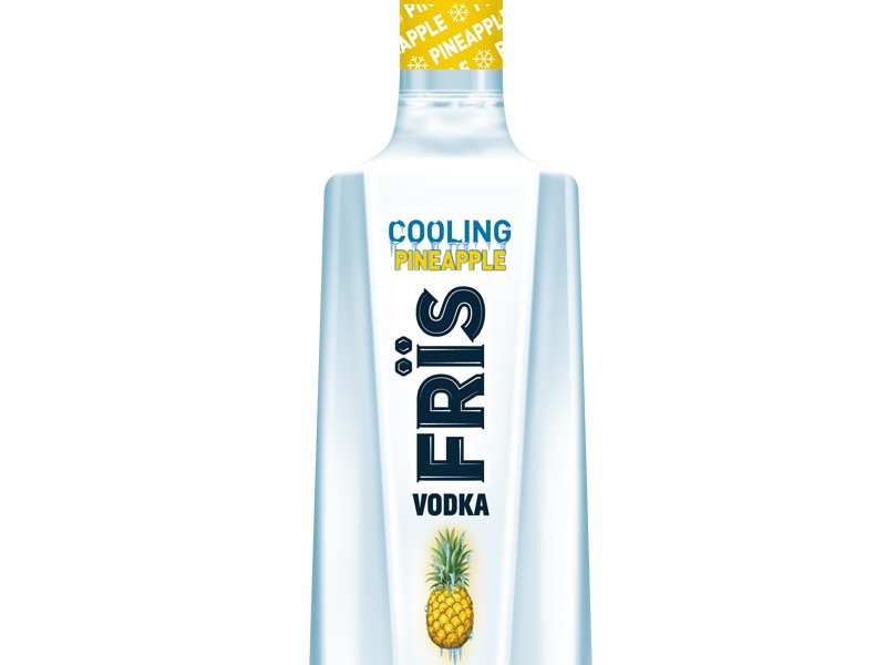 FrÏs Vodka Adds Pineapple Flavored Vodka to its Growing Family of Freeze Filtered Vodkas
