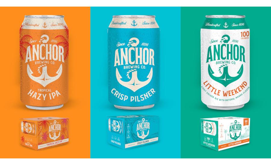 Anchor Brewing Co. Tropical Hazy IPA, Crisp Pilsner, Little Weekend