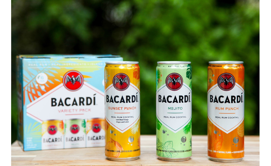 BACARDÍ Real Rum Canned Cocktails expand range with new flavors