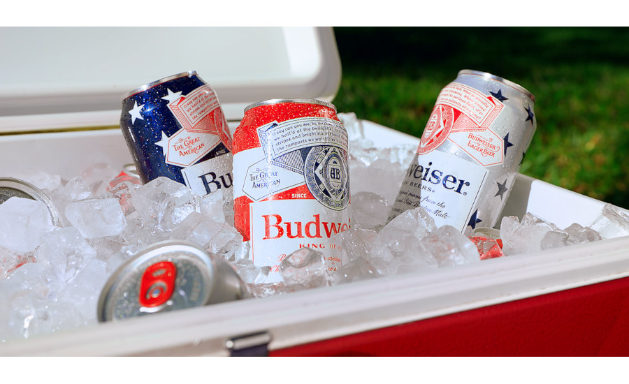 Budweiser debuts limited-edition patriotic cans to kick off the summer season
