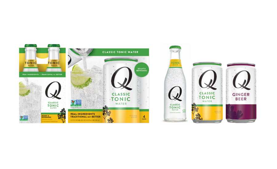 Q Mixers unveils rebrand, new packaging